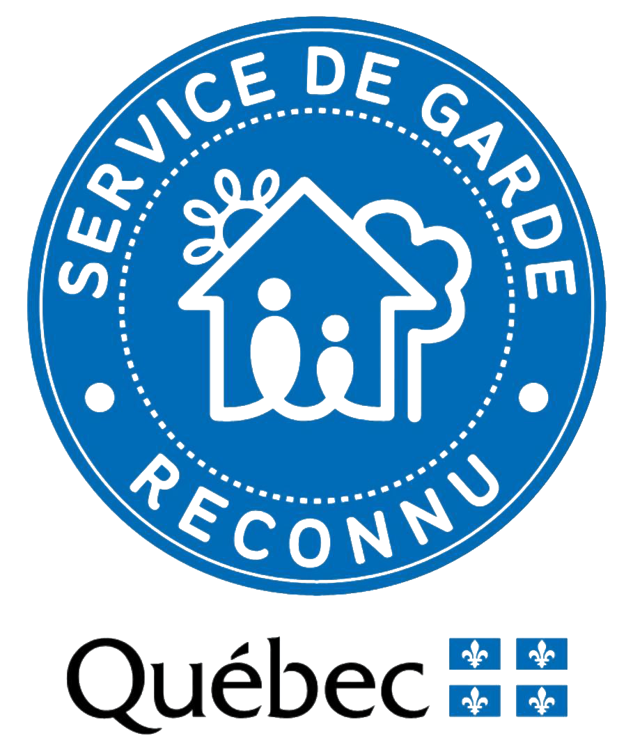 Icon of child care services recognized by the government of Quebec
